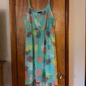 Beautiful Hi-Low Patterned Dress